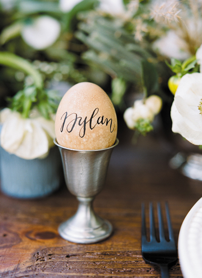 southern-wedding-calligraphy-eggs